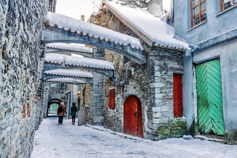 Tallinn, Szent Katalin passzázs