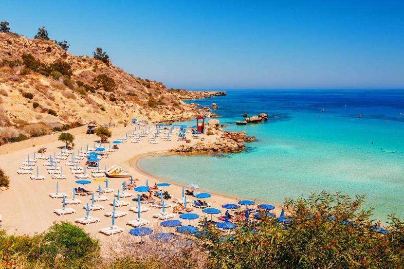 Nissi Beach, Ciprus