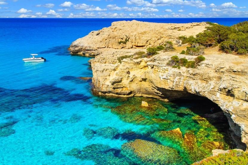 Kék lagúna, Ciprus