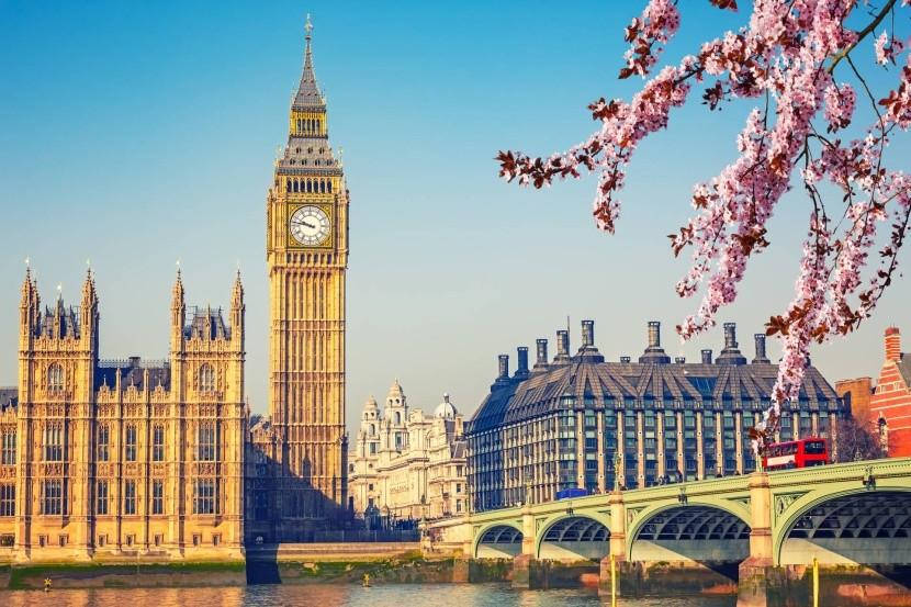 London tavasszal