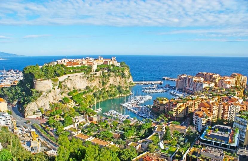 Monaco látképe
