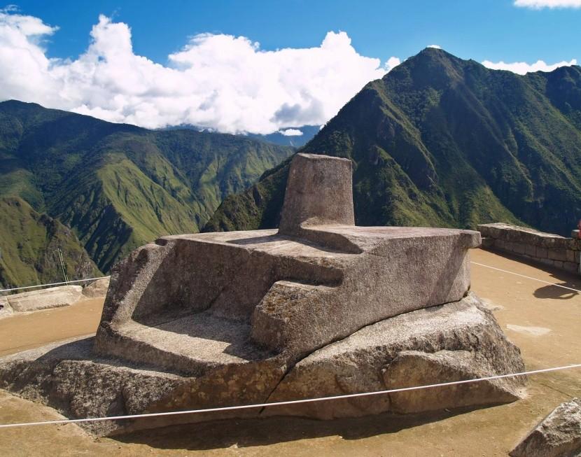 Intihuatana Machu Picchuban