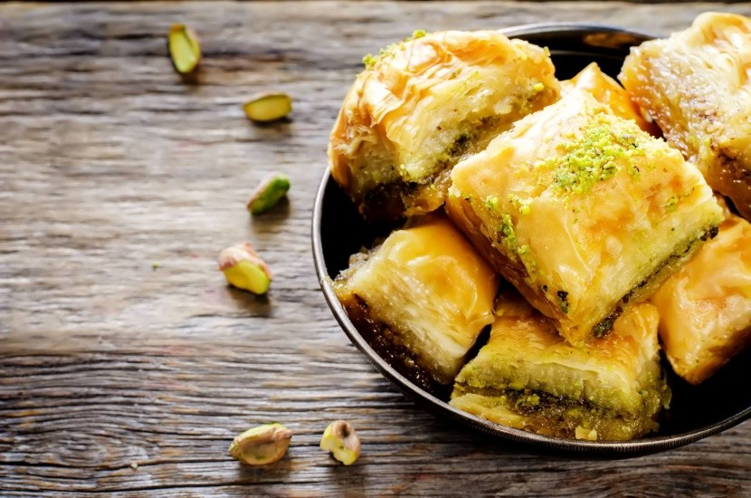 Görög desszert baklava