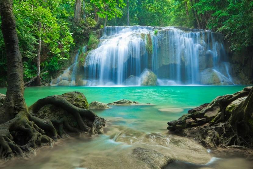 Erawan falls (Thaiföld)