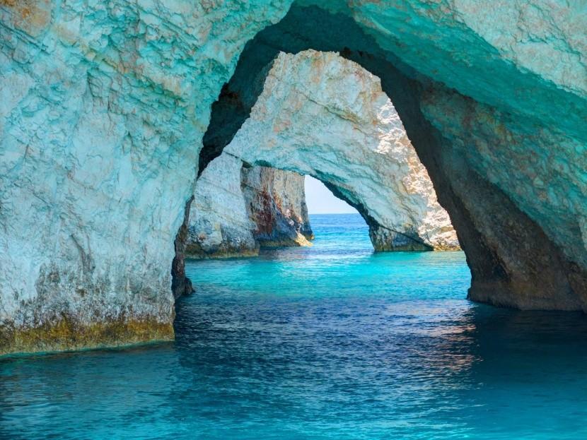 Kék barlangok, Zakynthos