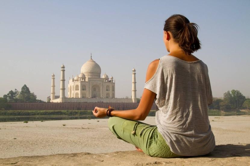 Meditálj a Taj Mahalban