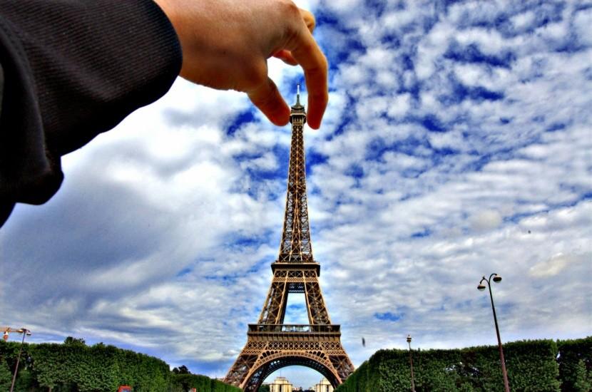 Ragadd meg az Eiffel-tornyot