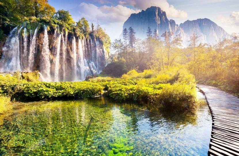 Plitvicei-tavak Nemzeti Park - Horvátország