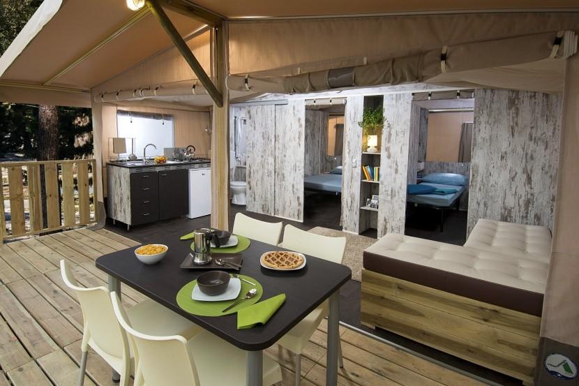 Safari Lodge belső tere