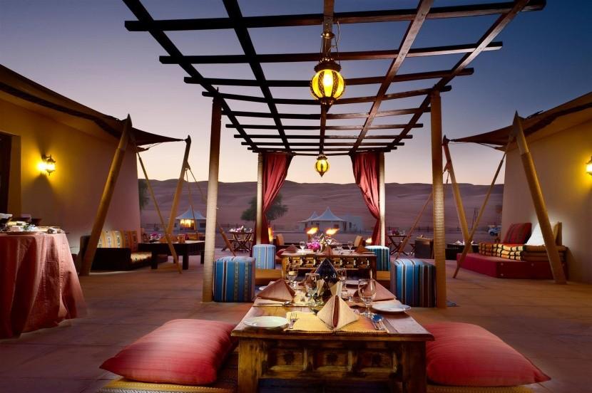 Desert Nights Camp - ebédlő rész