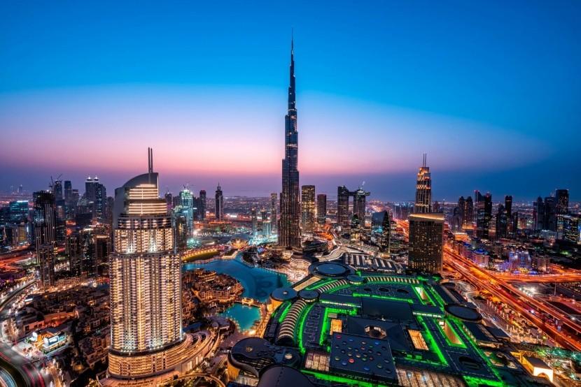 Dubai felhőkarcolói