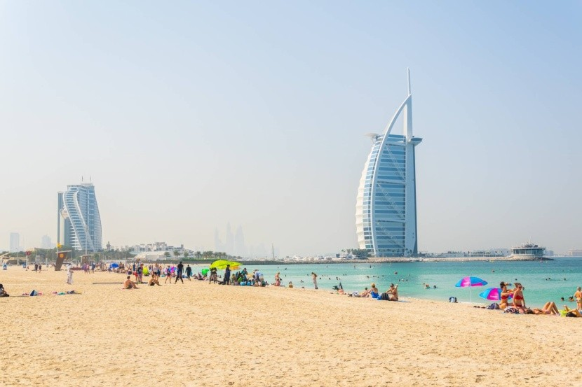 A világ legmagasabb hotelje, a Burj al-Arab