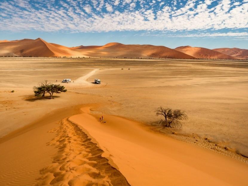 Sossusvlei homokdűnéi