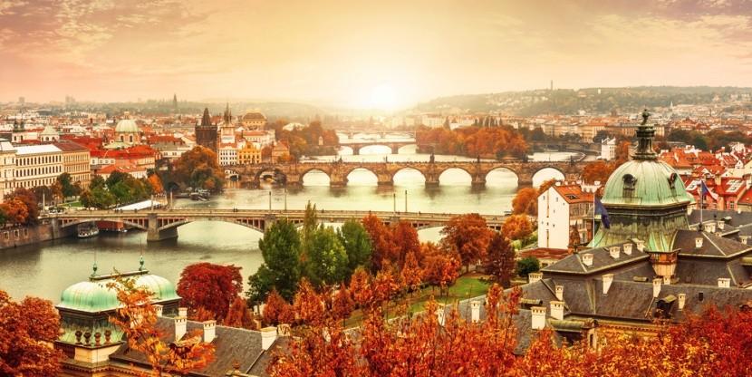 Varázslatos, őszi Prága