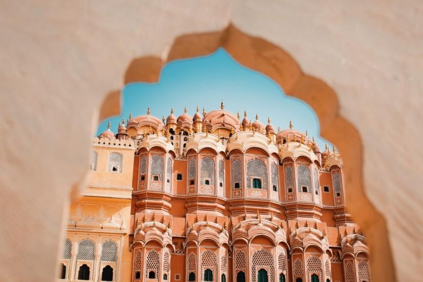 Dzsaipur, a rózsaszín város