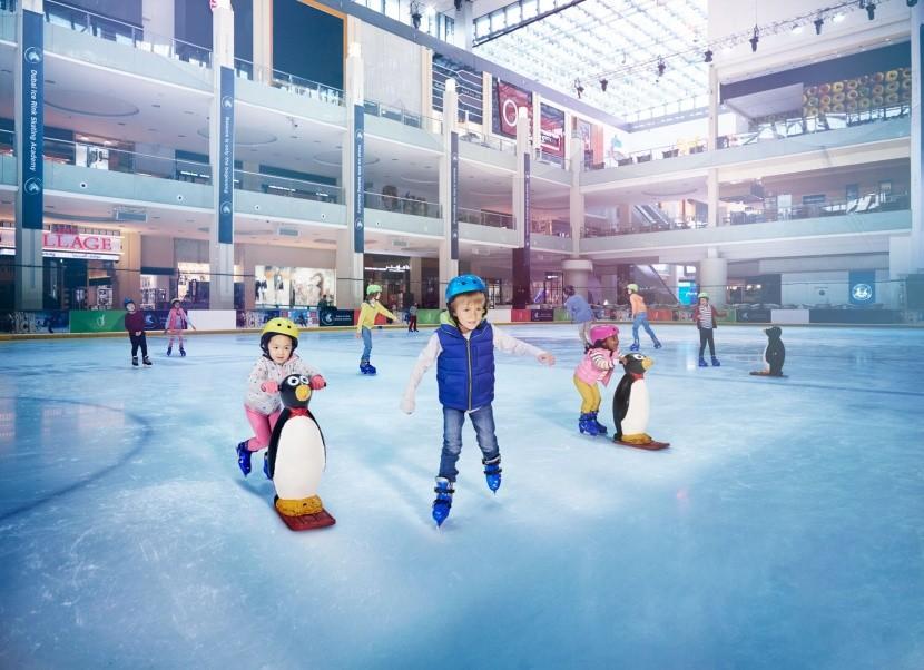 Dubai Ice Rink jégpálya