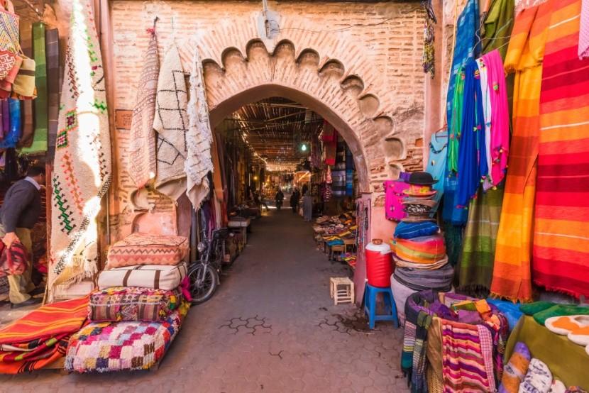 A Marrakeshi színes és illatos piacok