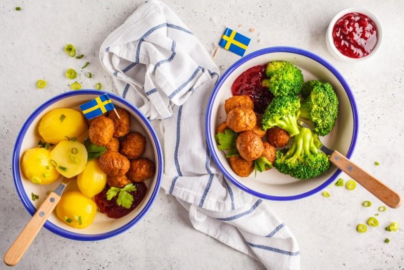 Tradícionális svéd húsgolyók