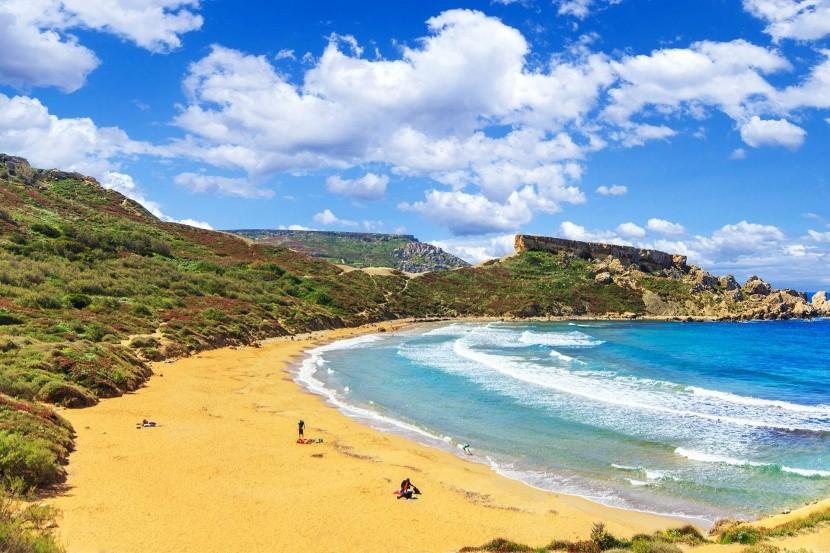 Máltai tengerpart
