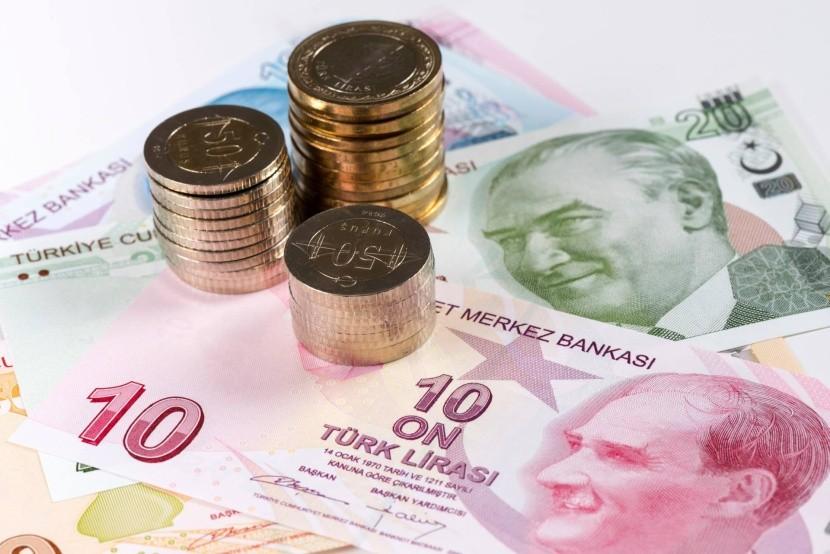 Török líra - bankjegyek és érmék