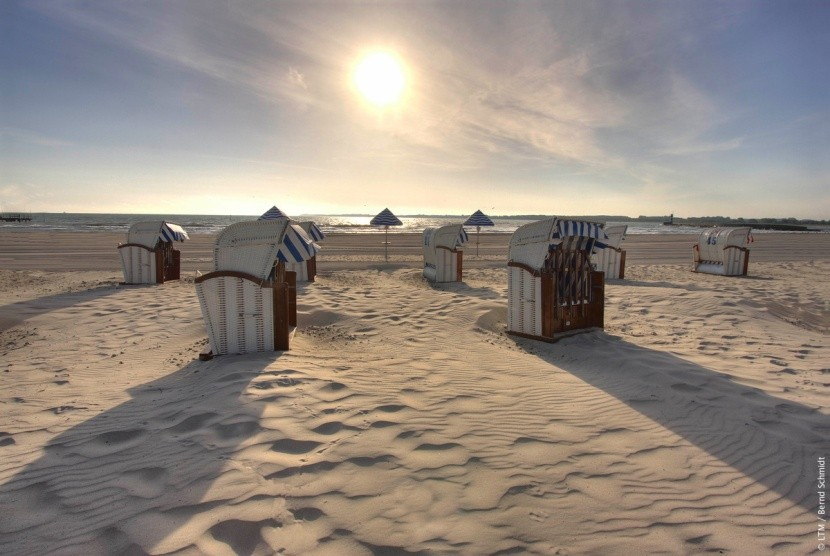 Schleswig-Holstein fehérhomokos tengerpartjai