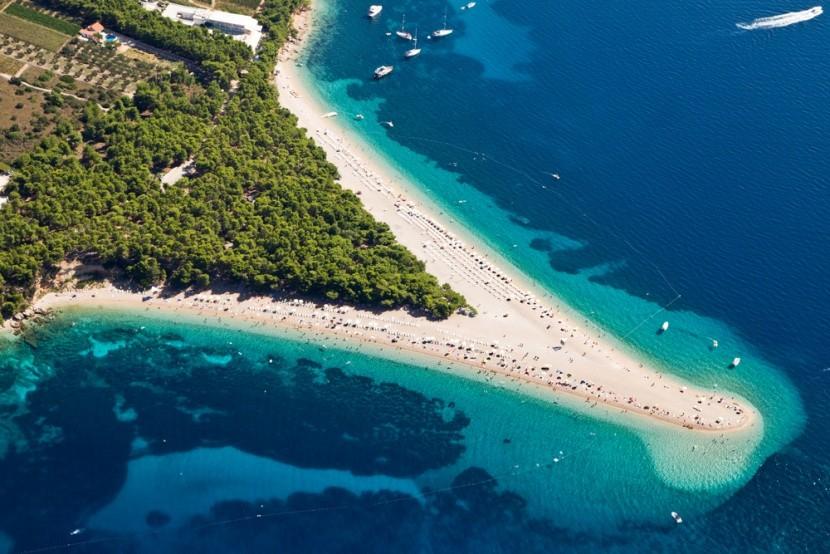 Zlatni Rat, Brac-sziget, Horvátország
