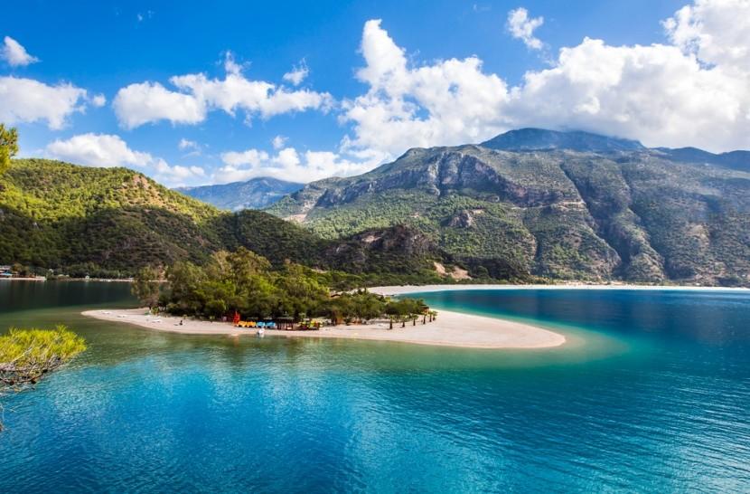 Kék-lagúna, Törökország