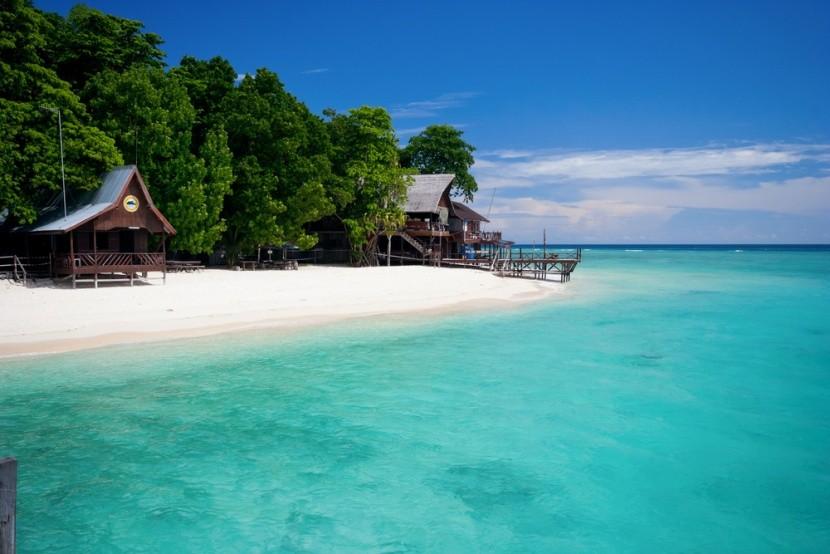 Borneónak csodás tengerpartjai is vannak