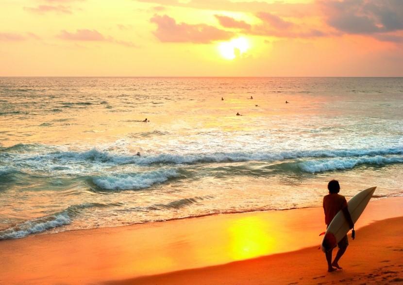 Hikkaduwa és a vízi sportok, Srí Lanka