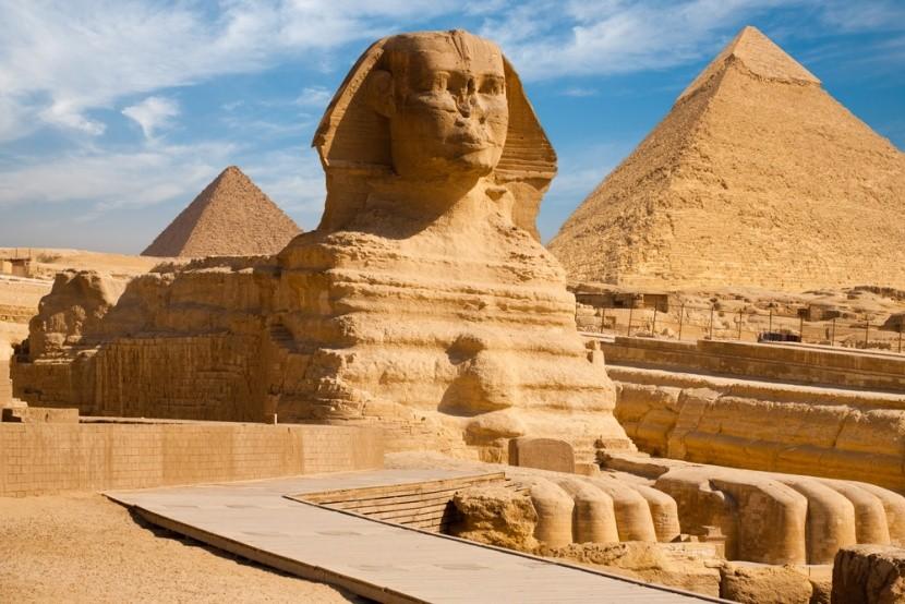 A legendás gízai szfinx, Egyiptom