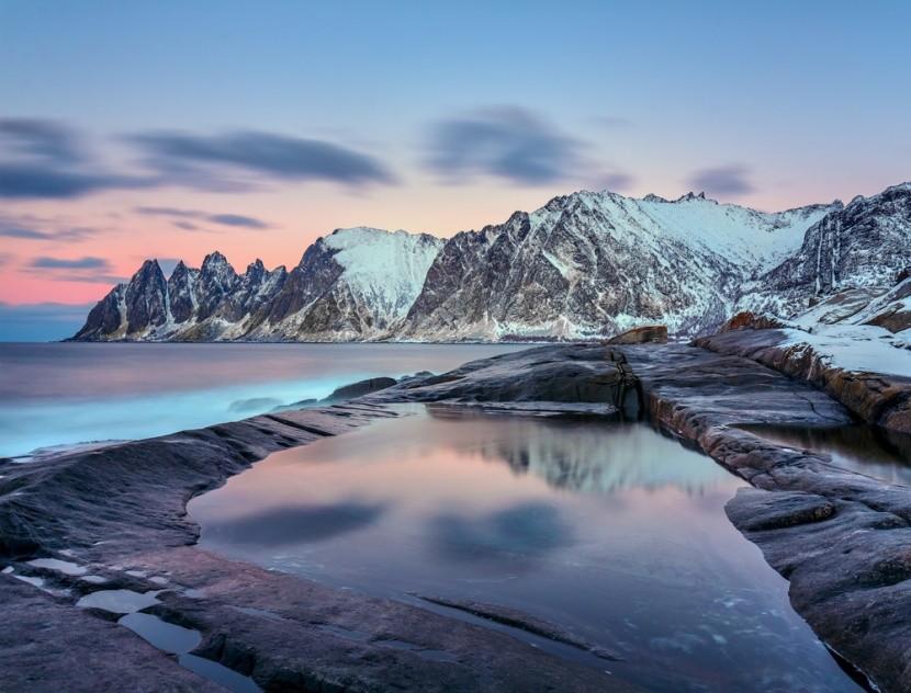 A Jégkirályság Tromsø régiójában, Norvégia