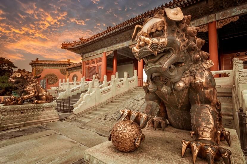 Tiltott város Pekingben, Kína