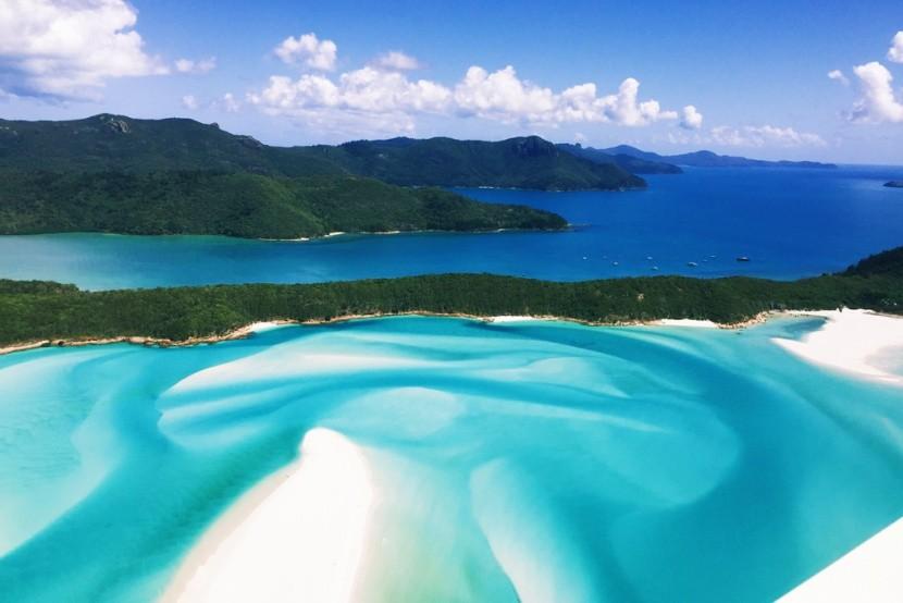 Whitehaven Beach, Queensland, Ausztrália