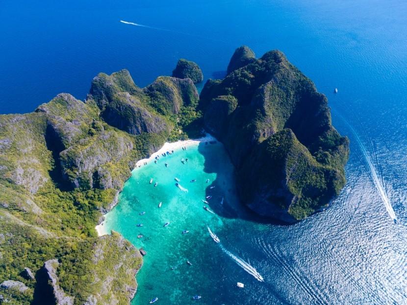 Maya-öböl, Koh Phi Phi, Thaiföld