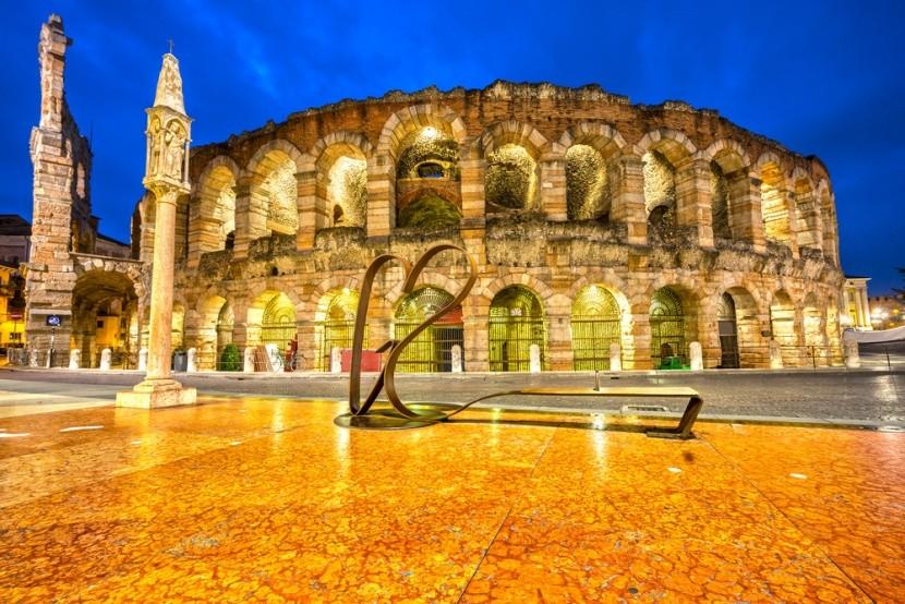 Az ókori gladiátorviadalok helyszíne