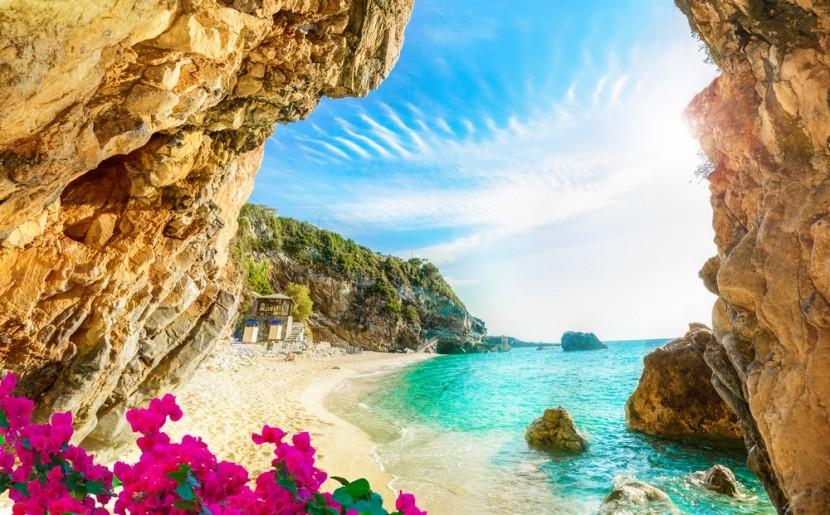 Isteni tengerpart a görög Korfu szigetén