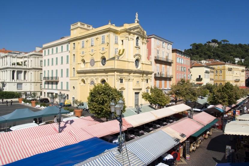 Nizza híres piaca
