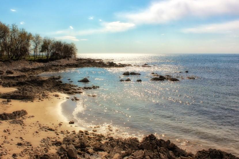 Zambratija beach