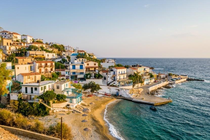 A festői Ikaria, Görögország