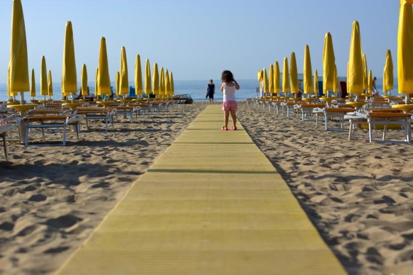 Bibione a gyerekes családok nyaralóhelye