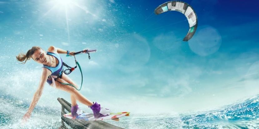 Kitesurf-ös nyaralás