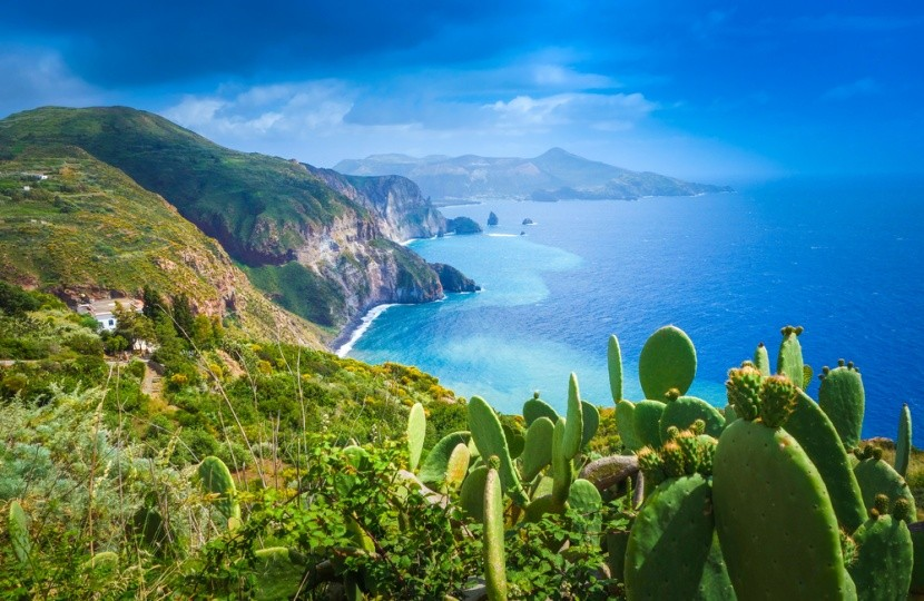 A vulkanikus Lipari-szigetek