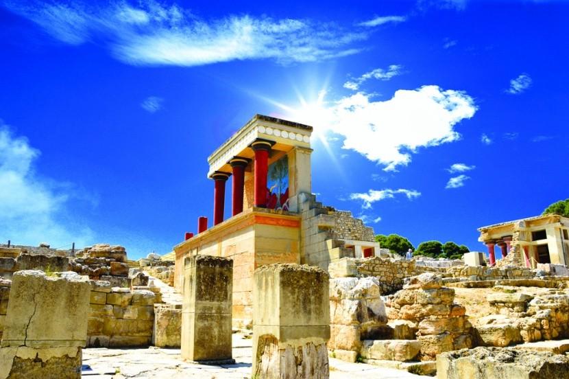 Knossos - a Minószi civilizáció központja