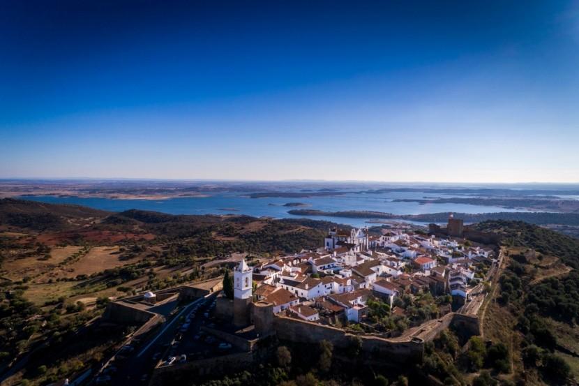 Alqueva rezervátum a portugáliai Alentejoban