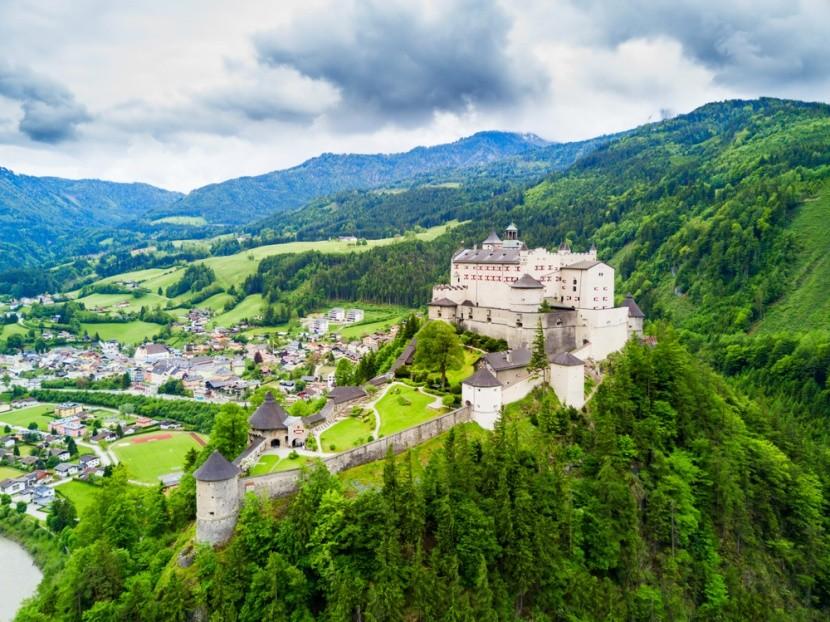 Hohenwerfen, Ausztria