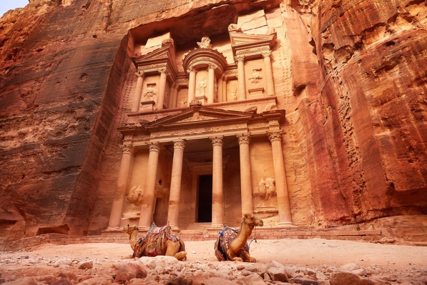 Petra a sziklaváros