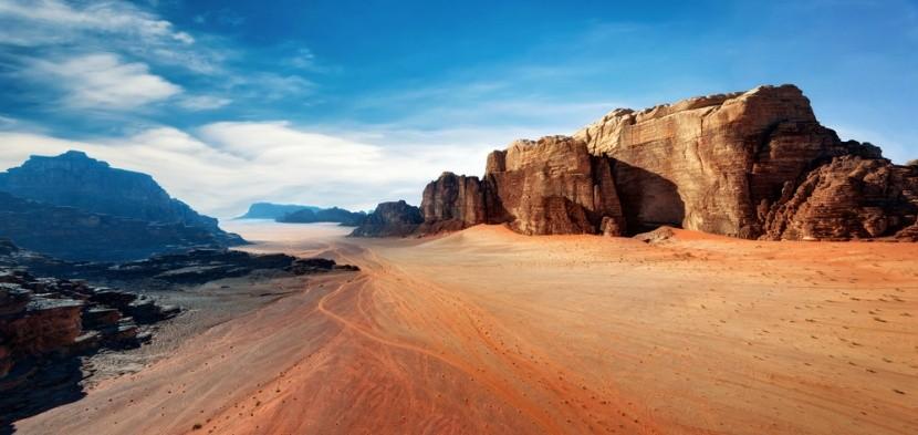 Wadi Rum, Jordánia