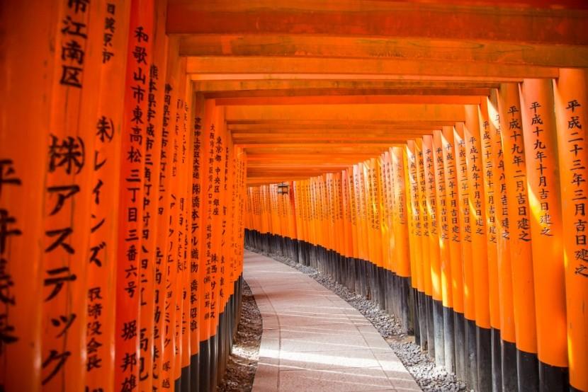 Japan, Kyoto, Fusimi Inari-nagyszentély