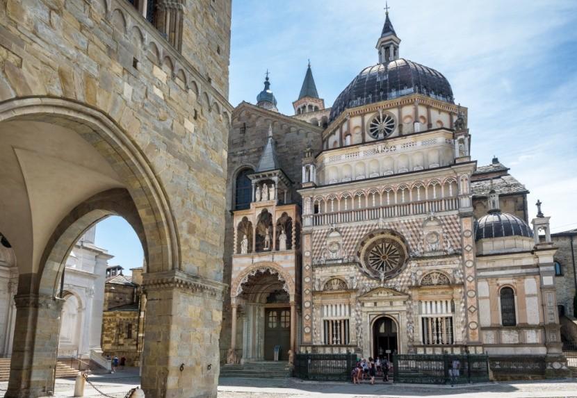 Bergamo, Città alta felfedezése