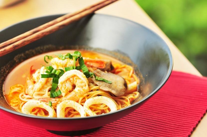 Tom yum koong a thai leves